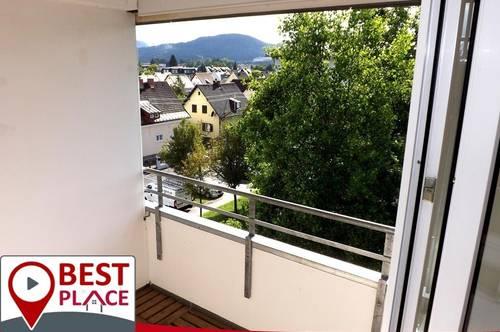 Klagenfurt Waidmannsdorf- DG mit Balkon und Weitblick