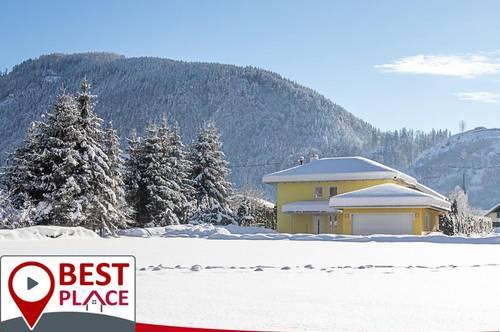 Hochwertiges und helles Einfamilienhaus mit Bergblick