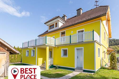 Charmantes Haus mit 4 Einheiten - von klein bis groß