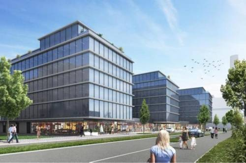 INNOVATIVES PRESTIGE GREEN BUILDING OFFICE ZUM MIETEN
