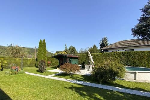 Kleingartenjuwel im Eigentum mit Blick auf den Bisamberg