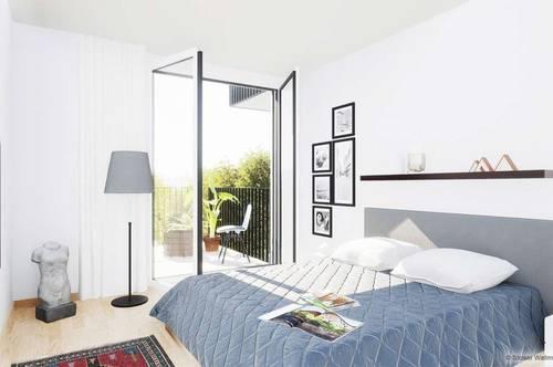 2-Zimmer Wohnung Erstbezug mit Eigengarten, provisionsfrei!