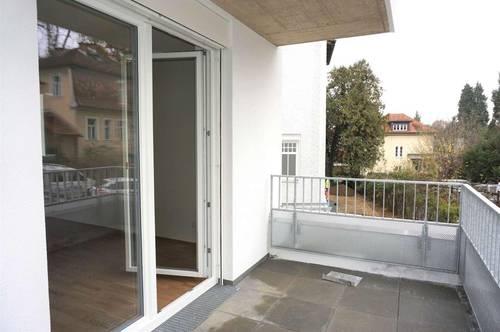 Exklusiver Neubau am Hilmteich mit Balkon und Terrasse!