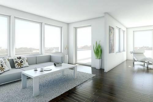 Hochmoderne ca. 120m² große Neubauwohnung! 5 Zimmer-Penthouse- LETZTE verfügbare Einheit!