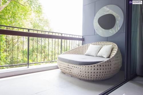 Ein Paradies - Luxuriöse Maisonette-Neubauwohnung 97 m² in mit tollem Eigengarten & Balkon - in St. Peter - Provisionsfrei!