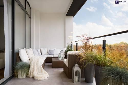Eindrucksvolles Wohngefühl - 93m² große Maisonette-Neubauwohnung mit heimeligem Eigengarten - St. Peter -