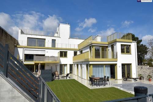 Großzügige Drei-Zimmer-Wohnung mit feinem Blick ins Grüne und großer Terrasse!