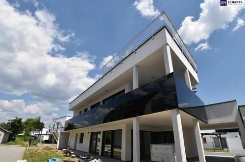 SONNE SONNE SONNE!! Gartenwohnung in Graz-Liebenau mit großer Terrasse und hochwertiger Ausstattung! Voll unterkellert!