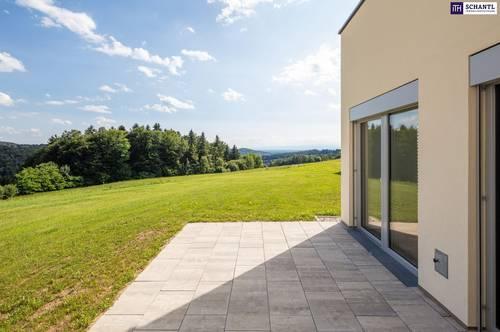 PROVISIONSFREI! Auf dem Plateau! Wunderschöne Doppelhaushälfte in Hart bei Graz! Videorundgang!