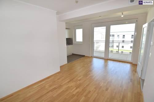 """""""DER MARKHOF"""" - Optimierte Zwei-Zimmer-Wohnung mit Hofruhelage + großer Loggia!"""