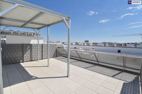 """""""DER MARKHOF"""" - Welch prachtvolle Dachterrasse! Top 3-Zimmer Wohnung im Erstbezug mit Loggia und Dachterrasse."""