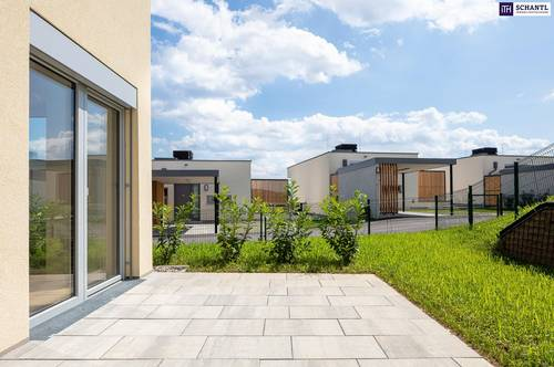 Neubau - ERSTBEZUG! PROVISIONSFREI! Terrassen - Reihenhaus am Hart bei Graz PLATEU! VIDEO!