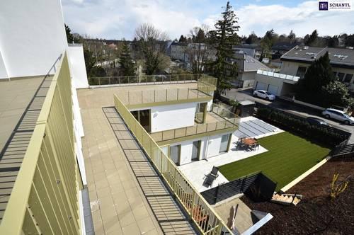 Zwei Zimmer im Erstbezug mit Loggia und einer grandioser Dachterrasse on TOP!