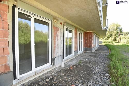 ANLEGER AUFGEPASST: Feine 3-Zimmer Gartenwohnung im ERSTBEZUG. Provisionsfrei. 150m² Eigengarten.