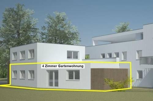 NEUBAU: barrierefreie 4 Zimmer Gartenwohnung mit ca. 90m² Wfl. in Koblach - provisionsfrei!