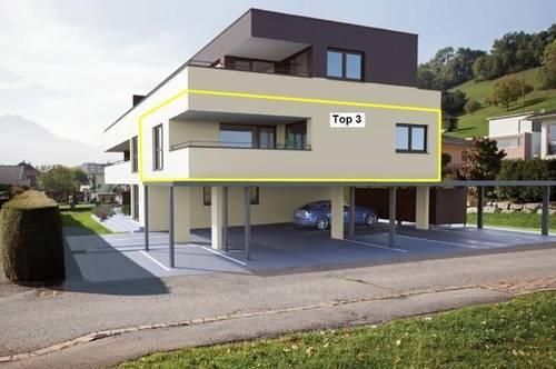 Tolle 3 Zimmerwohnung in Bludesch mit sonniger Terrasse! Top 3 (provisionsfrei)