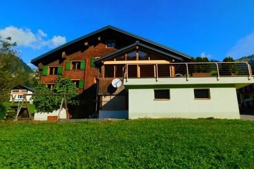 Großes Zweifamilienhaus in Sonntag/Seeberg Großes Walsertal! (kein Zweitwohnsitz)