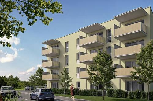 Sonnenbalkon - 2. Stock mit Lift, barrierefreies modernes Wohnen in Neubau-Mietwohnung in Steyr-Münichholz, provisionsfrei!