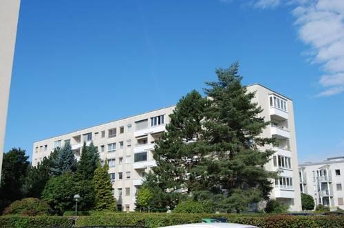 Grünes, idyllisches Wohnen bietet Erholung pur - hell und sonnig, schöner Schnitt - Loggia mit herrlichem Ausblick! 1A-Infrastruktur! Prov.frei