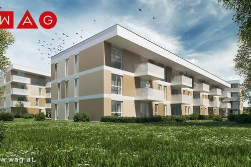 Dreiseitig orientierte Wohnung ermöglicht ein Leben mit der Sonne: Leistbar dank großer Wohnbauförderung! Sichern Sie sich diesen Familientraum!