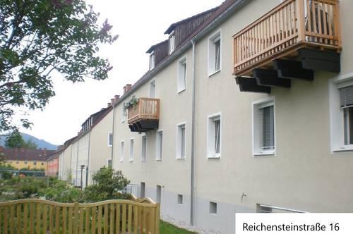 Sonnige 3-Raum-Wohnung zum Wohlfühlen mit Parkplatz im Grünen im Herzen der Wohlfühlsiedlung Trofaiach Nord! Provisionsfrei!
