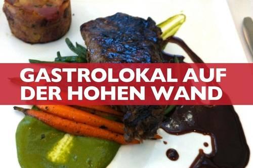 Gastrolokal auf der Hohen Wand sucht innovative Betreiber!