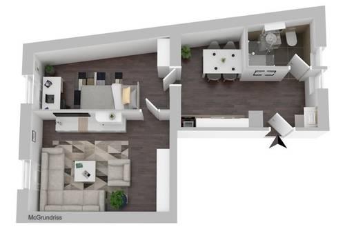 TOP MIETPREIS - Neuwertige Wohnung mit neuer Küche mit circa 50 m² in Gloggnitz.