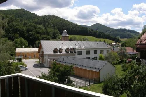 CAMPO-WOHNUNG: Naturnahes Wohnen am Land - Genossenschaftswohnung ca. 74 m2 - Lilienfeld - Traumlage