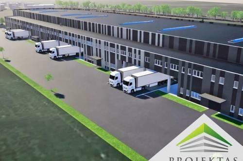 LogisticAREA Stadlhof - Flexible Neubau Gewerbeflächen in Wels