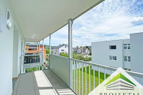 Neubau 2-Zimmerwohnung mit Küche und Balkon zum Erstbezug in Ottensheim!