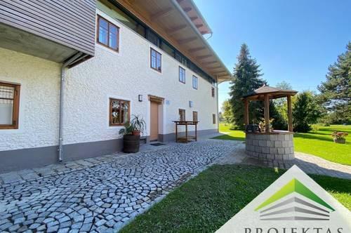 Uriger Bauernhofladen mit Gewölbekeller und Küche! 121 m² Wohnung im Haus verfügbar!