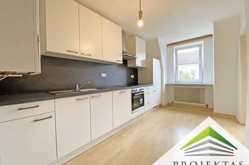 Ruhige 2 Zimmer-Wohnung mit nagelneuer Küche am Linzer Stadtrand