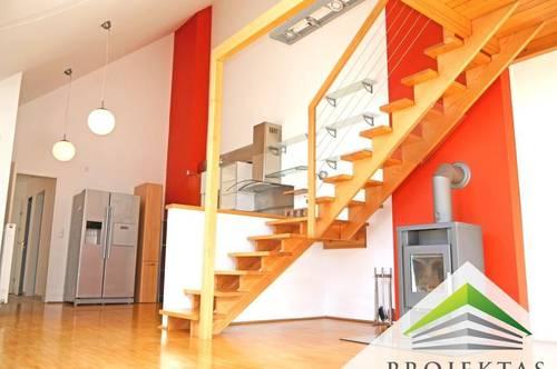 Walding: Stylische 3 Zimmer DG-Wohnung mit Balkon und Küche zu vermieten!