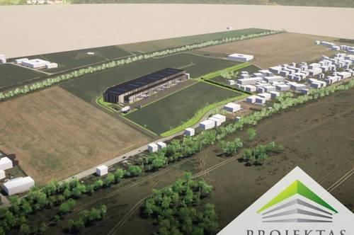 LogisticAREA Stadlhof - Neubau Gewerbeflächen in Wels! Planen Sie noch mit!