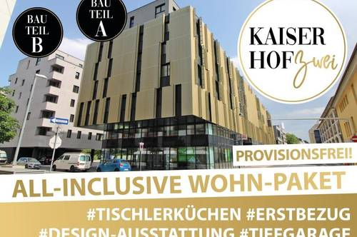 KAISERHOF 2 - PROVISIONSFREI! Exklusive 2 Zimmer Designerwohnung zum Erstbezug!
