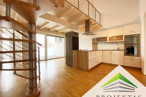 Charmante DG-Neubauwohnung mit Küche und Terrasse im Linzer Stockhofviertel