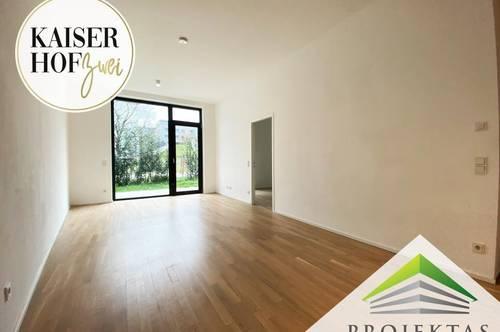 KAISERHOF 2 - Moderne 2 Zimmer-Gartenwohnung mit Küche in Bestlage - PROVISIONSFREI