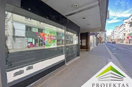 MOZARTSTRASSE - Ideales Geschäfslokal mit Schaufensterfront in bester Innenstadtlage
