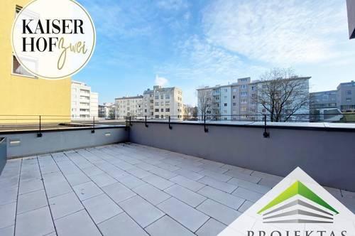 KAISERHOF 2 | Exklusive 2 Zimmer-Terrassenwohnung zum Erstbezug - PROVISIONSFREI