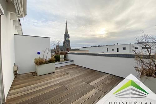 Bestlage Herrenstraße! Großzügiges Penthouse auf 3 Etagen mit traumhafter Dachterrasse