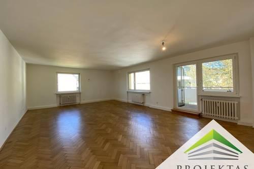 134 m² Wohnung mit Balkon am Bindermichl! 3 Schlafzimmer und riesiges Wohnzimmer!
