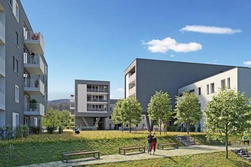 NATURPARK LINZ.SÜD | Geförderte 2-Zimmer Gartenwohnung im Stadtteil Linz-Pichling!