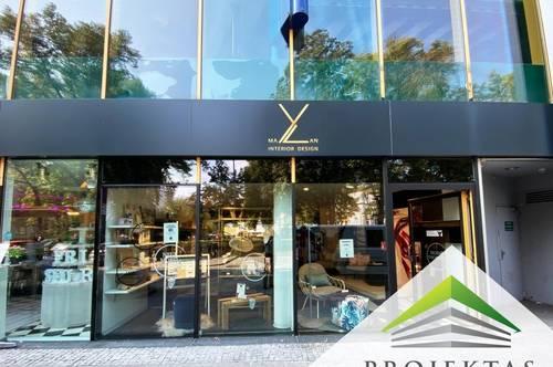 Ideal gelegenes Geschäftslokal mit Schaufensterfront direkt am Schillerpark!