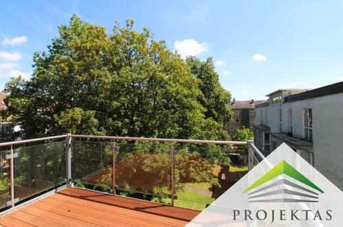 3,5 Zimmer Dachgeschoßwohnung mit großem Balkon