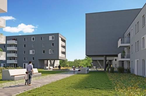 NATURPARK LINZ.SÜD | Geförderte 2-Zimmer Neubauwohnung im Stadtteil Linz-Pichling!
