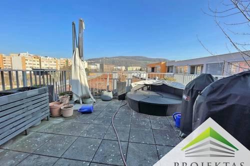 Wunderschöne Dachterrassenwohnung über zwei Ebenen in guter Lage in Urfahr!