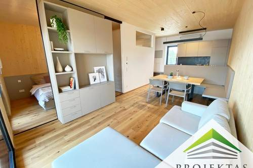 CASA CARLONE - SMART & GREEN LIVING: Vollmöbierte Design-Wohnung in Linz! 360° Rundgang online!