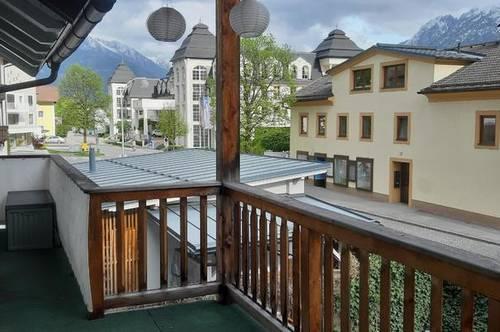 Zentrale 3 Zimmerwohnung mit Terrasse und Garage