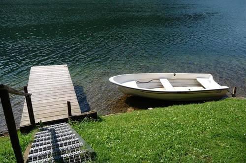 Kleine Ferienanlage mit Seegrundstück!