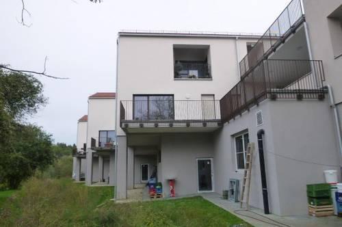 Erstbezug / 6 neu errichtete, sonnige Mietwohnungen mit Terrassen, Loggia und Balkon, Grünblick / TOP 6 Maisonette